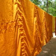 Monks' Robes Drying in the Sun