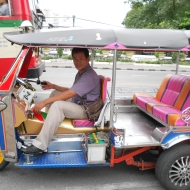 Tuk-Tuks can be Colourful