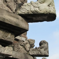Detail at Prambanan, Java, Indonesia