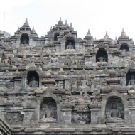 Detail at Borobudur, Java, Indonesia