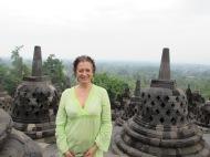 Happy Birthday! At Borobudur, Java