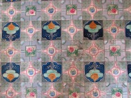 Floor Detail at Shwe Zi Gone, Bagan, Burma
