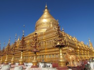 Shwe Zi Gone, Bagan, Burma