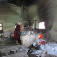 Kitchen at Mahagandayon Monastery, Mandalay, Burma