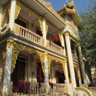 Mahagandayon Monastery, Mandalay, Burma