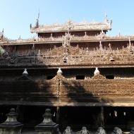 Shwenandaw Monastery, Mandalay, Burma
