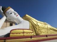 Reclining Buddha at Bodhi Tataung, Monywa, Burma