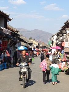 Downtown Dali, China