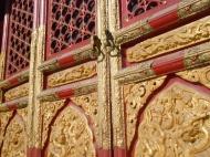 Door at Forbidden City, Beijing, China