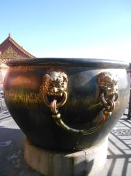 Giant Pot, Forbidden City, Beijing, China