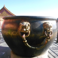 Giant Pot, Forbidden City, Beijing, China