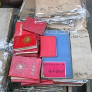 Little Red Books for Sale, Tianjin Market, China