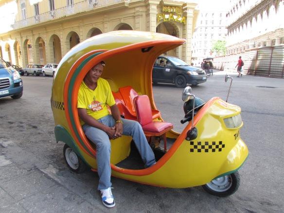 Mini taxis, Havana