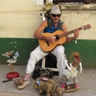 Street Performer in Havana