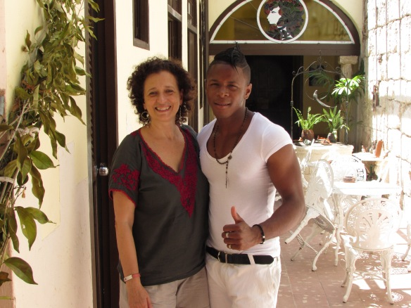 Yaumel my salsa teacher!