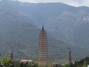3 Pagodas, Dali, China
