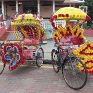 Tuk Tuks in Malacca, Malaysia