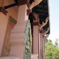 Detail at Wat Phnom, Phnom Penh, Cambodia