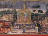 Royal Palace Mural, Phnom Penh, Cambodia