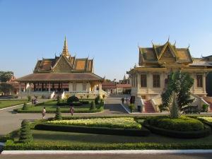 Royal Palace, Phnom Pehn, Cambodia