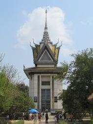 Stupa at the Killing Fields, Phnom Penh, Cambodia
