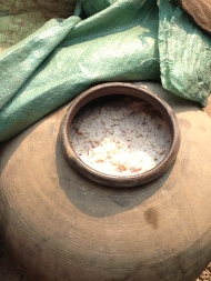 Fermented Rye For Making Whisky, Lao