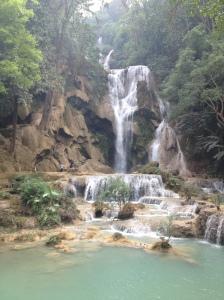 Kuang Si Waterfall, Luang Prabang, Lao
