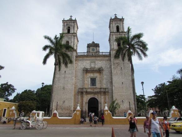 San Gervasio's Cathedral, Valladolid, Mexico