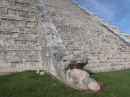 Detail at Chichen Itza, Mexico