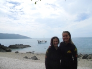 First ever snorkel with Blair who took great care of me, Daydream Island