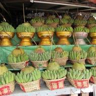 Market outside Botataung Pagoda, Yangon, Burma