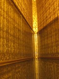 Golden Interior of Botataung Pagoda, Yangon, Burma