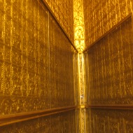 Golden Interior of Botataung Pagoda, Yangon, Burma