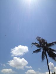 Sky in Ubud