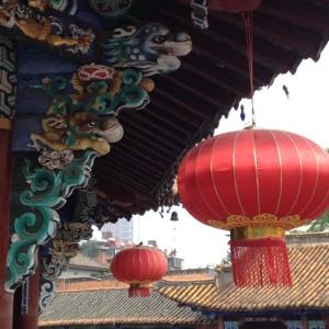 Yuantong Temple Detail, Kunming, China